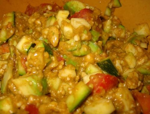 Herzhaftes Früchte-Curry.